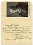 General Electric Founder Elihu Thomson Signed Album Page JSA LOA