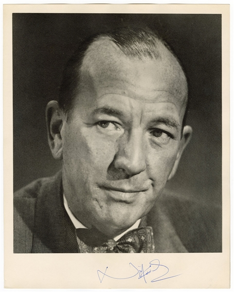 Noel Coward Signed Photograph JSA LOA