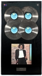 "Michael Jackson ""Off The Wall"" Original Epic Records U.K. In-House Multi-Platinum Record Album Award Presented to Frank DiLeo"