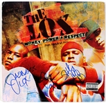 "The L.O.X. Signed ""Money, Power & Respect"" Album JSA LOA"