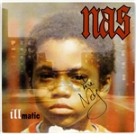 "Nas Signed & Inscribed ""Illmatic"" Album JSA ALOA"