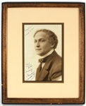 Harry Houdini Signed & Inscribed Original Photograph JSA LOA