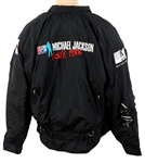 Michael Jackson 1988 Bad World Tour Black Jacket  Owned by Manager Frank DiLeo