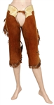 "Shania Twain ""Any Man Of Mine"" Music Video and Album Cover Worn Brown Suede Chaps"