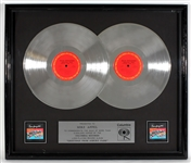"Bruce Springsteen ""Greetings from Asbury Park"" Original Double Platinum Album Award Presented to Mike Appel"