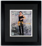 Bruce Springsteen Signed 1988 Rolling Stone Magazine Cover