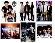 Jonas Brothers Signed Photograph Archive