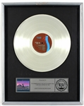 "Pink Floyd ""A Collection of Great Dance Songs"" Original RIAA Platinum LP Record Album Award"