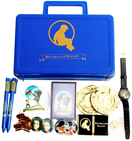 Michael Jackson Personally Owned Original Neverland Valley Ranch Gift Bag