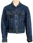 "Steve McQueen ""Junior Bonner"" Film and Personally Worn Custom Denim Jean Jacket"