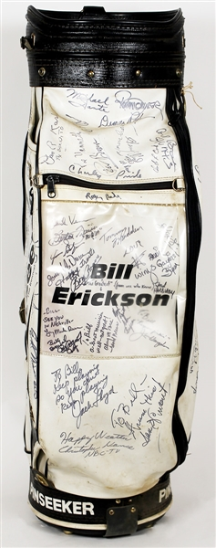 Celebrity Signed Golf Bag