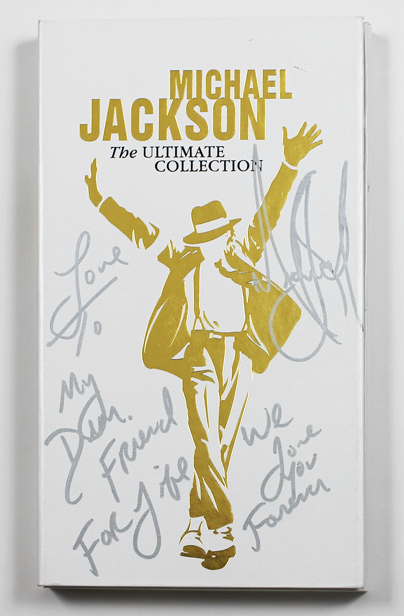 "The Ultimate Collection Of Ta Moko: Michael Jackson Signed & Inscribed ""The"