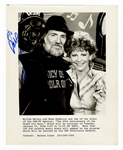 Willie Nelson Signed Publicity Photograph Becket Authentication