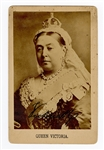 Queen Victoria Signed Cabinet Card