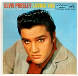 "Elvis Presley ""Loving You"" Original High Fidelity 1st Pressing LP"