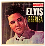 "Elvis Presley ""Elvis Regresa"" Rare Cuban Red Label Original LP"