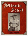 Minnie Pearl Signed Fan Scrapbook JSA LOA