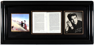 "Elvis Presley Hand-Annotated, Signed and Inscribed ""Letters of Helena Roerich 1935-1939"" Book Pages"