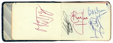 Rolling Stones 1963 Signed Autograph Book Pages