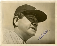"Finest Babe Ruth ""Gem Mint"" Signed Original Photograph PSA/DNA Autograph Grade 9 LOA"