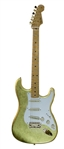 "Prince's ""Goldfinger"" Original Fender Stratocaster Custom Made Gold-Leaf Prototype Guitar"