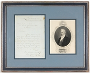 President James Buchanan Signed Handwritten Letter