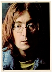 John Lennon Signed Original White Album Photograph Insert Authenticated by Frank Caiazzo