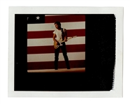 "Bruce Springsteen ""Born in the U.S.A."" Original Annie Leibovitz Type 1 Polaroid Album Cover Outtake Photograph"