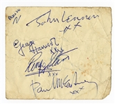 Beatles Complete Set of Autographs Tracks LOA
