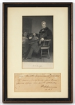 William Henry Harrison Handwritten Signed Note (1793) JSA LOA