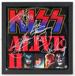 "KISS ""Alive II"" Fully Signed Album"