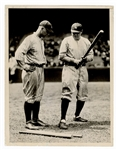 Lou Gehrig & Babe Ruth Photograph
