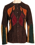 Jimi Hendrix Owned & Worn Dandys Multi-Color Suede Jacket