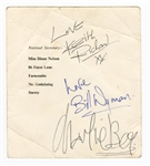 The Rolling Stones Signed Postcard