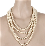 "Marilyn Monroe ""Last Sitting Photo Shoot"" ""Sparkle Session"" Worn Faux Pearl Necklace"