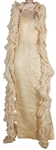 Marilyn Monroe Owned & Worn Gown and Shawl