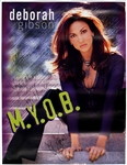 "Debbie Gibson Signed & Inscribed ""M.Y.O.B."" Promotional Poster"