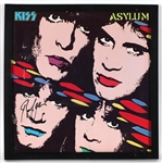 "Bruce Kulick Signed KISS ""Asylum"" Album Cover"