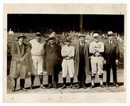 Babe Ruth Original Wire Photograph
