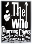 The Who Original 1992 Concert Poster