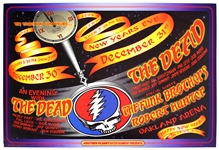 "The Grateful Dead ""An Evening With The Dead"" Original New Years Concert Poster"