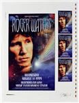 Roger Waters Original Uncut Concert Poster and Handbill Artwork Signed by David Dean