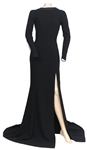 "Katharine McPhee ""Sinatra 100: An All-Star Grammy Concert""  Stage Worn Max Azria Atelier Custom Black Gown"