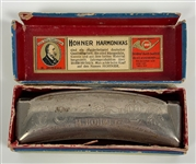 John Lennon's Owned and Used Beatles 1960's Hohner Harmonica