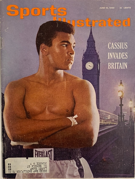 Muhammad Ali First Sports Illustrated Cover