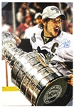 Sidney Crosby signed Incredible 2008 Stanley Cup victory 24 x 36 Canvas