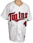 Paul Molitor Signed Minnesota Twins Cooperstown Rookie Replica Jersey