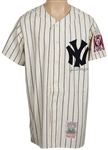 Joe DiMaggio Signed New York Yankees Cooperstown Rookie Replica Jersey