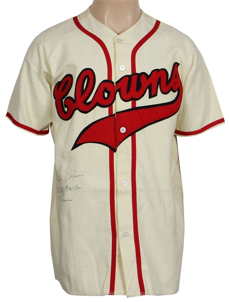 Negro League Multi Signed Jersey Jim Cohen, Andrew Porter & Buster Haywood