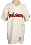 Early Wynn Signed Cleveland Indians Jersey